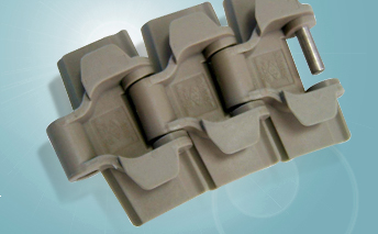 Chaîne à charnières en plastique d'ingénierie